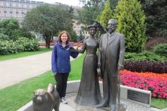 Памятник мэру города Рига и его жене