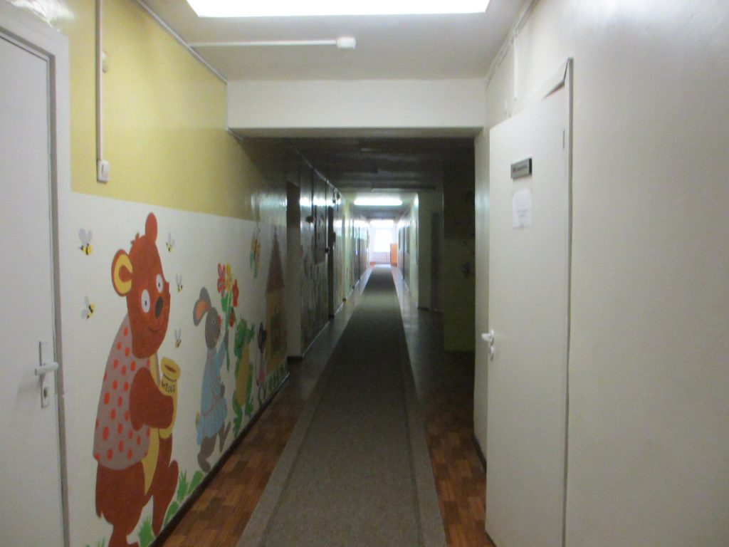 Литовский центр образования глухих и слабослышащих - Коридоры детского сада