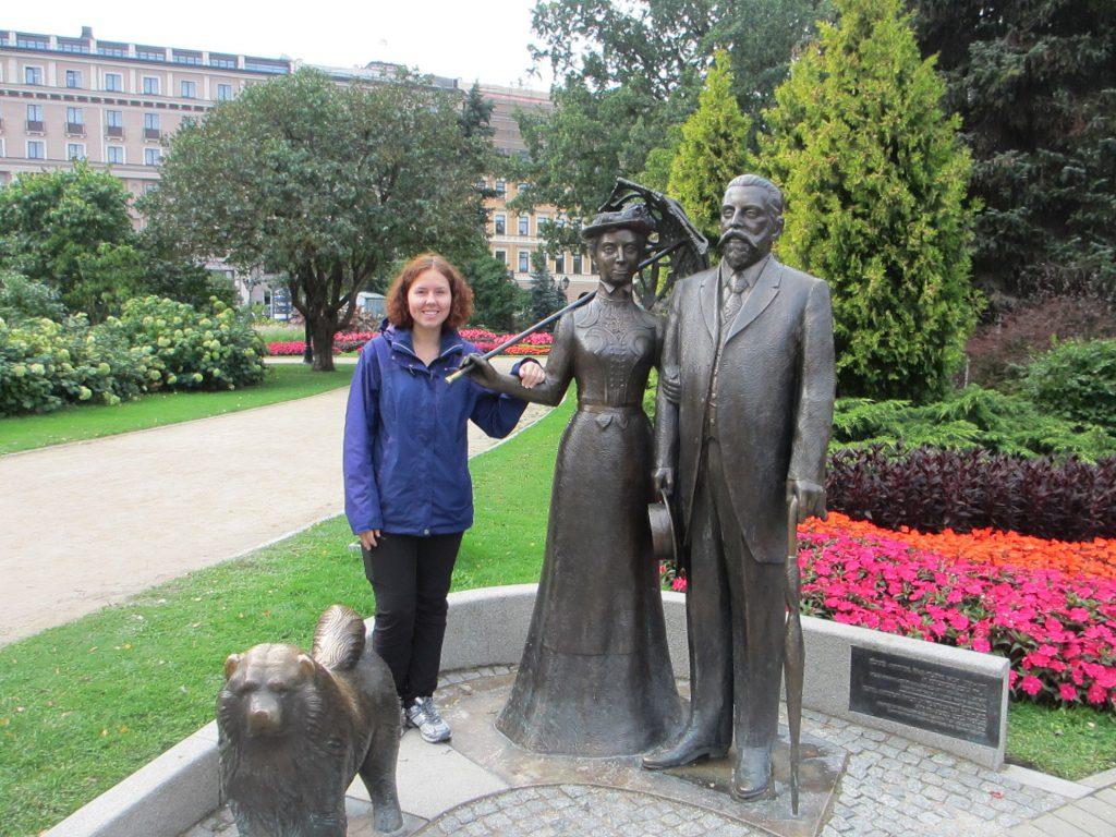 Памятник мэру города Рига и его жене - Рига