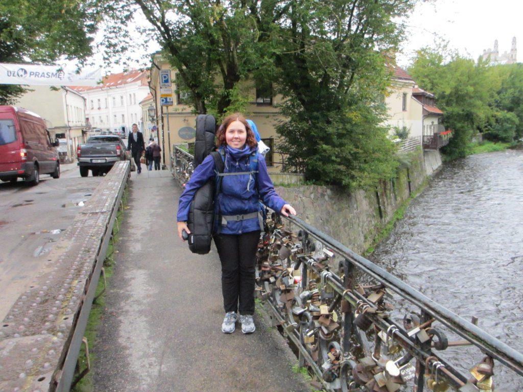 Мост, ведущий в Ужупис
