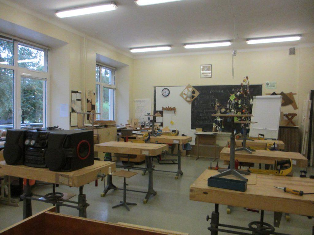 Литовский центр образования глухих и слабослышащих - Мастерская