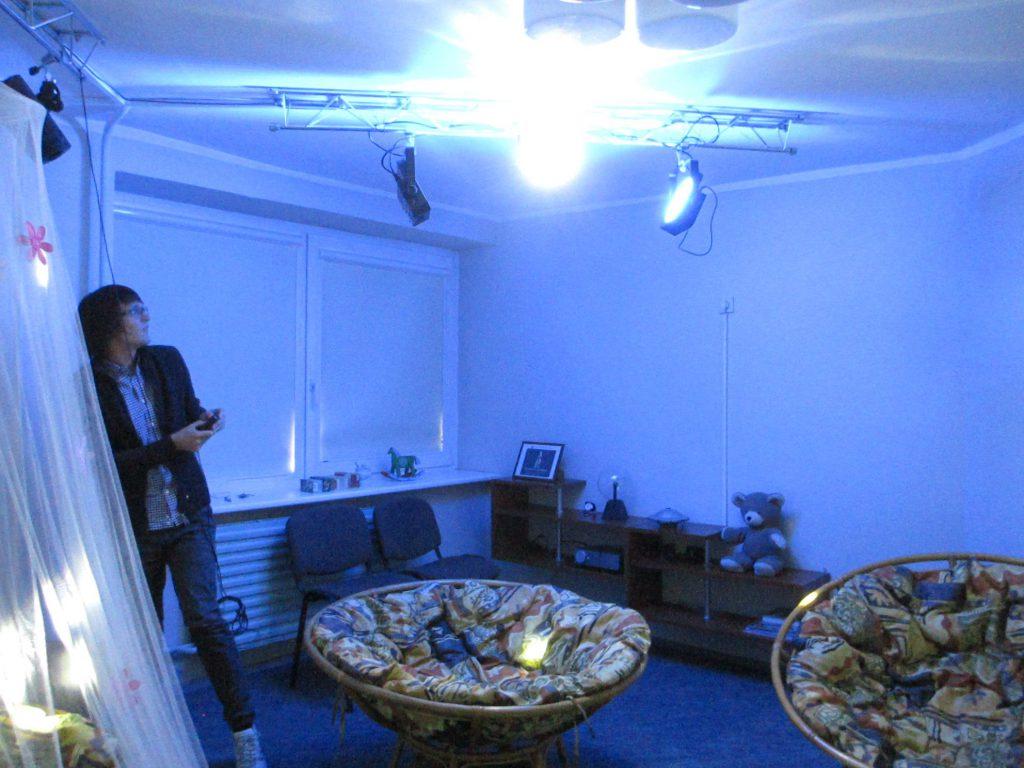 Литовский центр образования глухих и слабослышащих - Комната психологической разгрузки