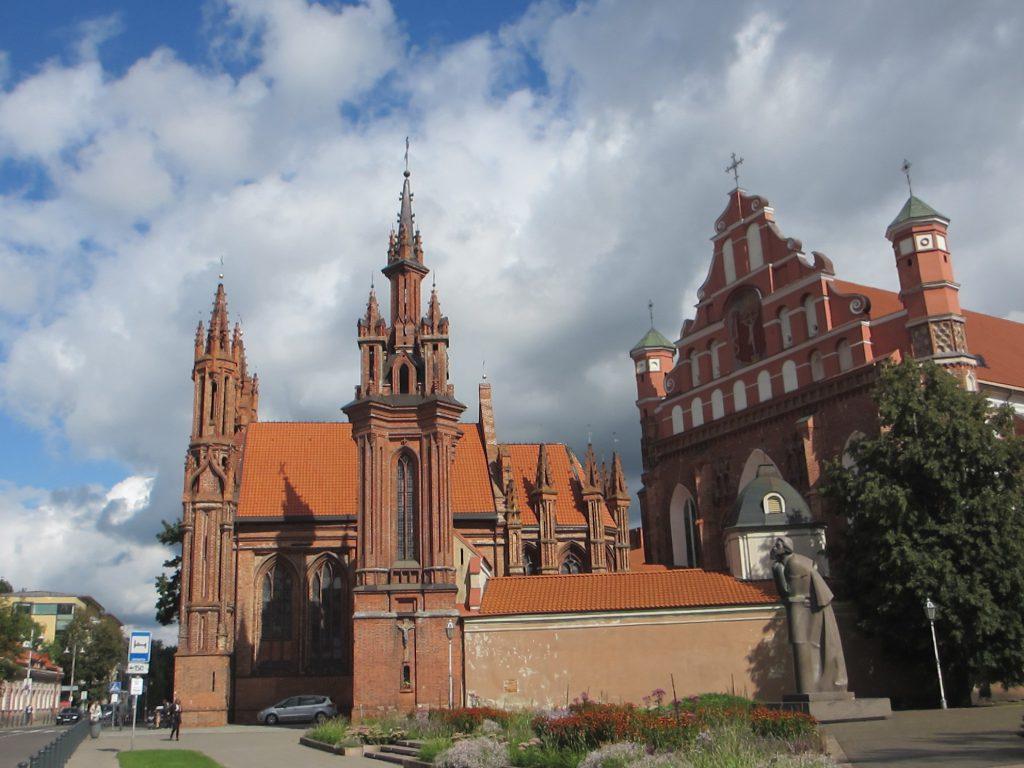 Вильнюс - Готический храм