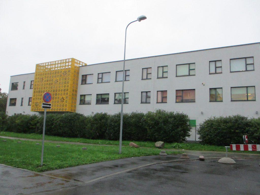 Вид школы снаружи - Таллин