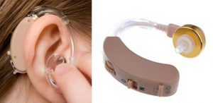 Заушный слуховой апарат