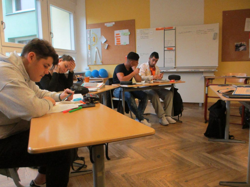 Школа Эрнста Адольфа Эшке 10-й класс