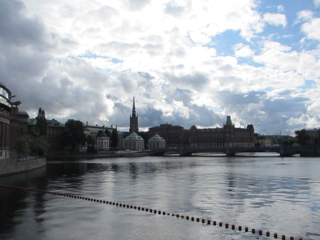 Stockholm embankments