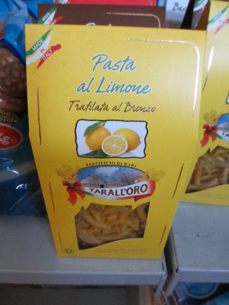 Макароны... с лимоном!