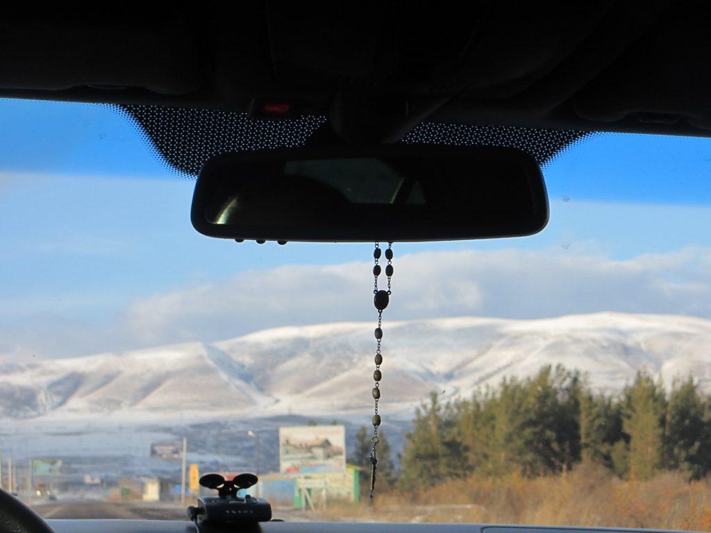 Дорога в Грузию. Перевал