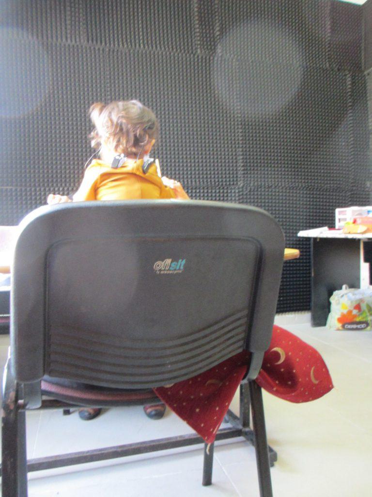 Занятие с трехлетней девочкой