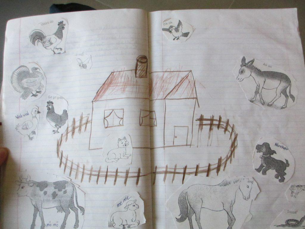 Рабочая тетрадь ученика: скотный двор