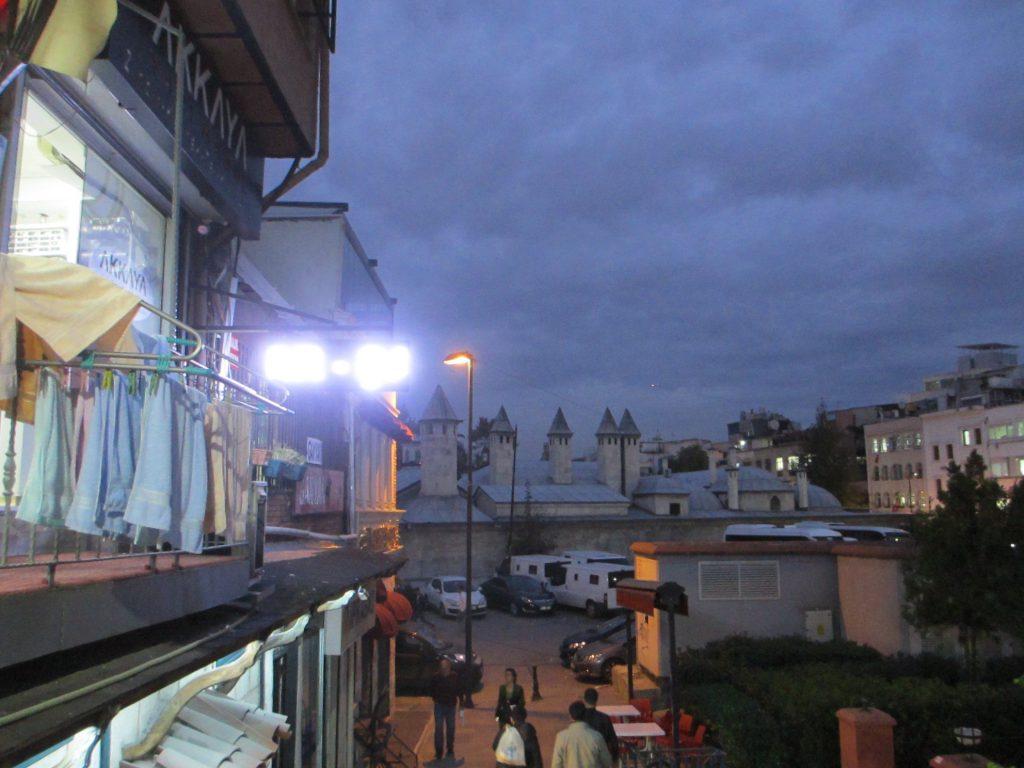 Старый город плавно переходит в жилые кварталы