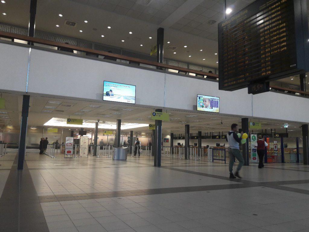 Пустынный аэропорт Берлина