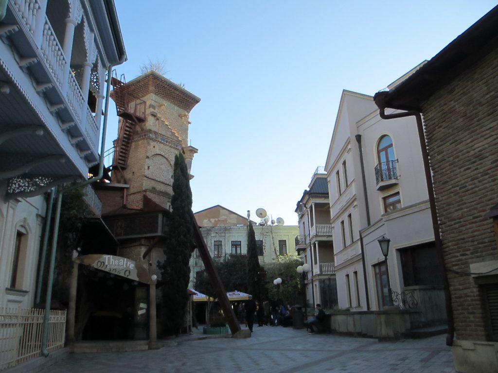 Театр марионеток в центре города