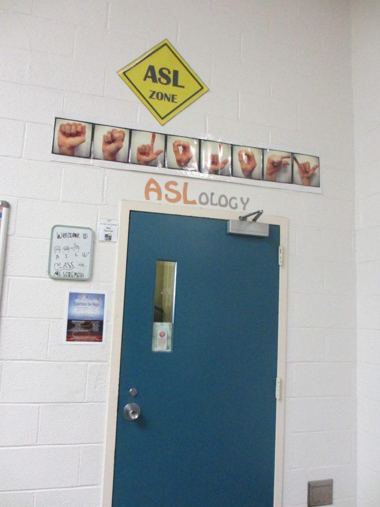 Кабинет изучения американского жестового языка
