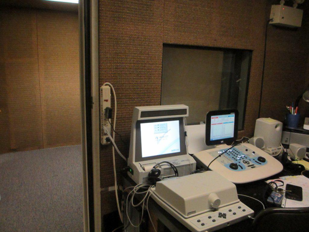 оборудование для аудиологического обследования