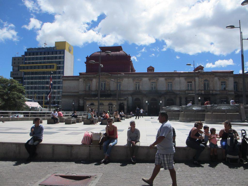 Центральная площадь Сан-Хосе
