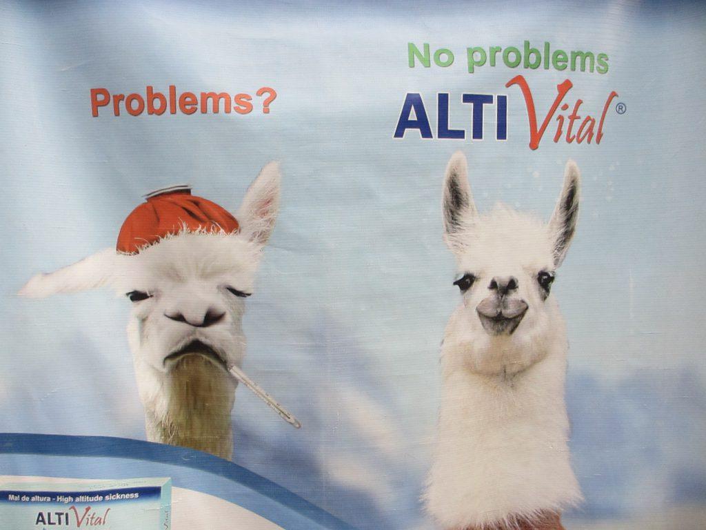 Реклама средств от простуды по-перуански :)