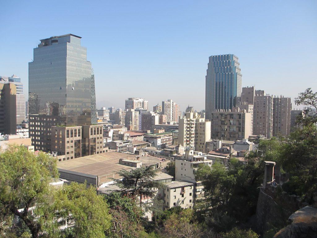Вид на Сантьяго - Путешествие дефектолога