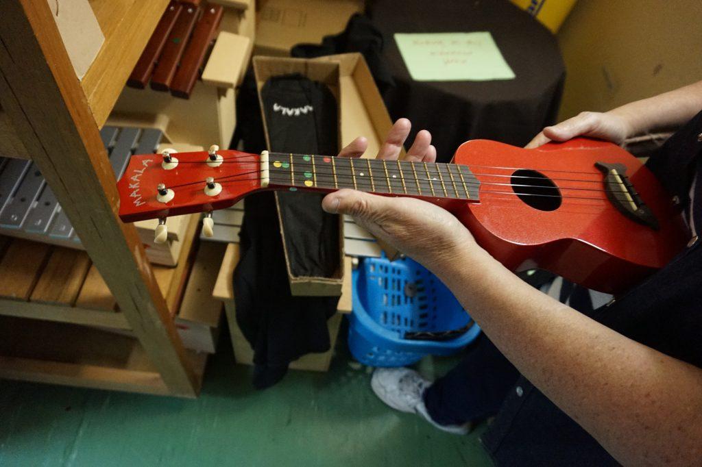 Учебная укулеле