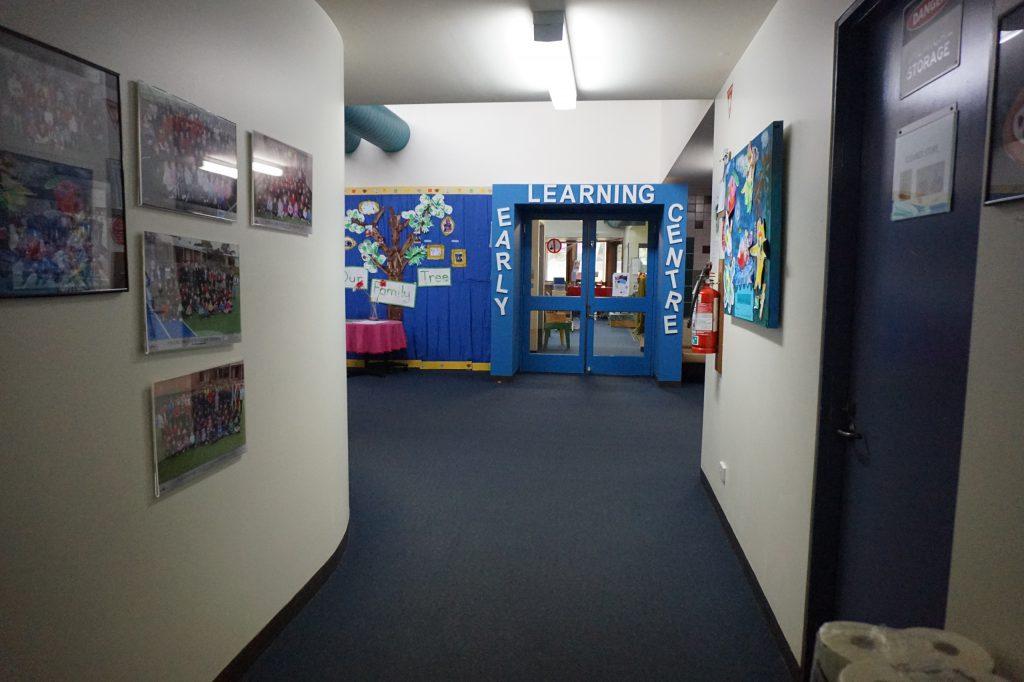 Вход в детский сад
