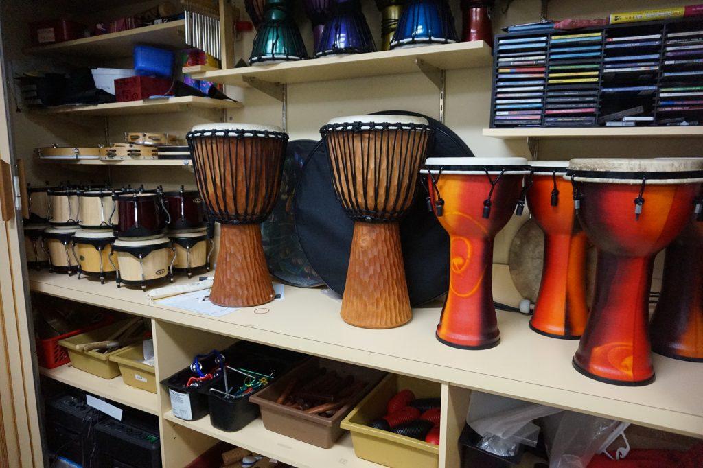 Музыкальные инструменты для занятий
